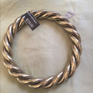 Banana Republic antique gold bangles